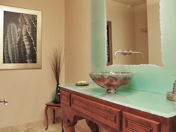 Hoilday Powder Room Bath Built by Carmel Homes Design Group LLC