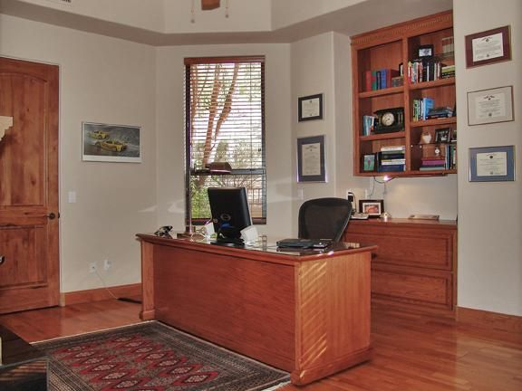Holiday Den Office Built by Carmel Homes Design Group LLC