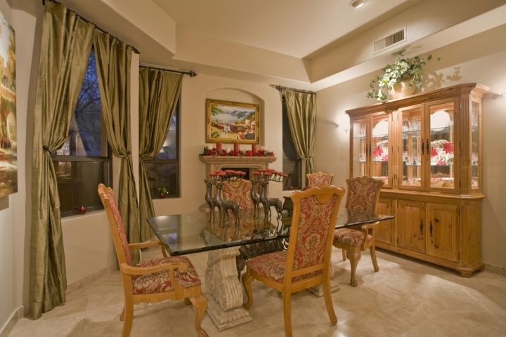 Holiday Dining Room Built by Carmel Homes Design Group LLC