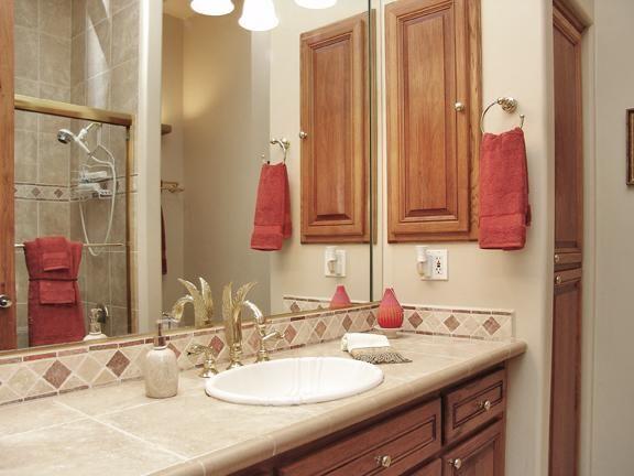 Holiday Guestroom Bathroom Built by Carmel Homes Design Group LLC