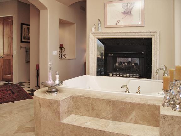 Holiday Master Bath Room Tub Built by Carmel Homes Design Group LLC