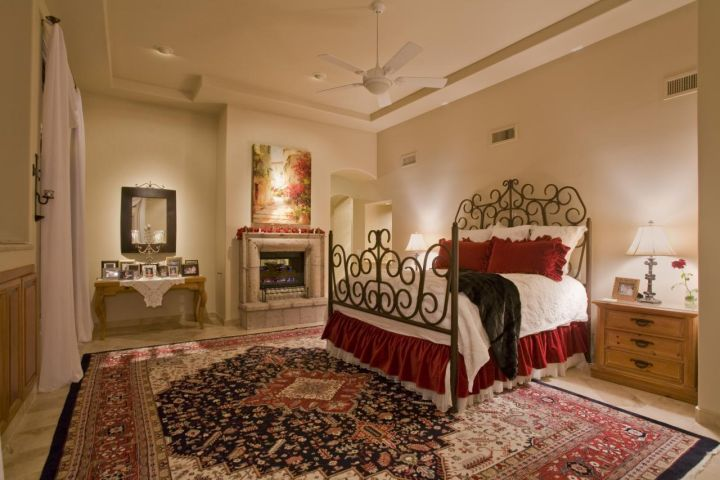 Holiday Master Bedroom Built by Carmel Homes Design Group LLC