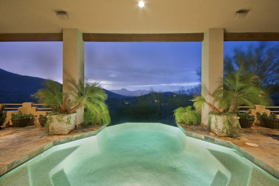 Holiday Pool Built by Carmel Homes Design Group LLC