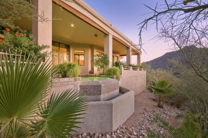 Holiday Rear patio & pool Built by Carmel Homes Design Group LLC