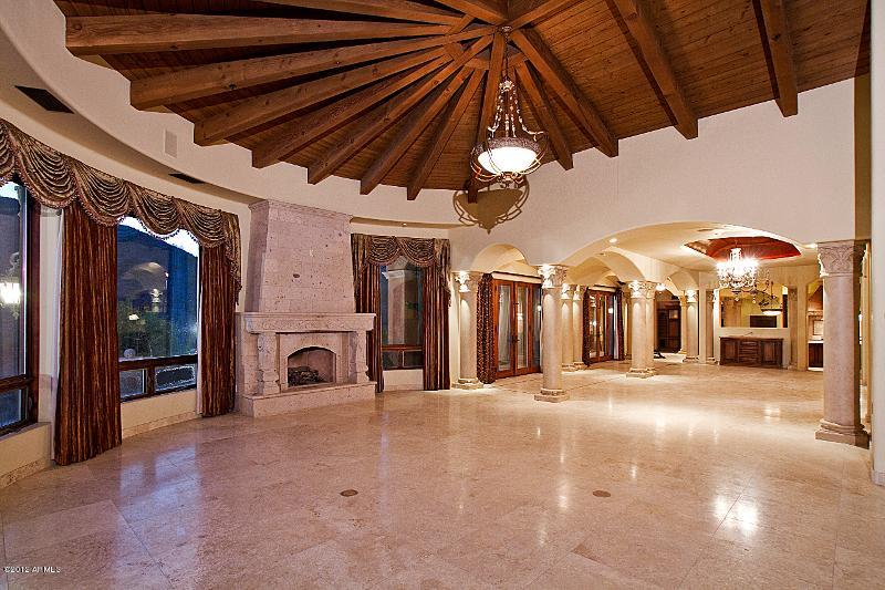 10 lot 171 Living Room Dining Old World Home Built by Carmel Homes Design Group LLC