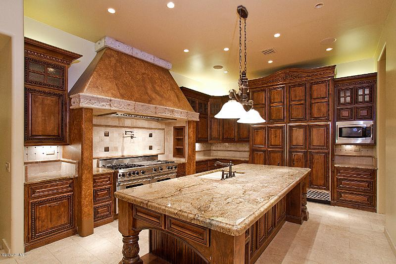 11 lot 171 Kitchen 1 Old World Home Built by Carmel Homes Design Group LLC