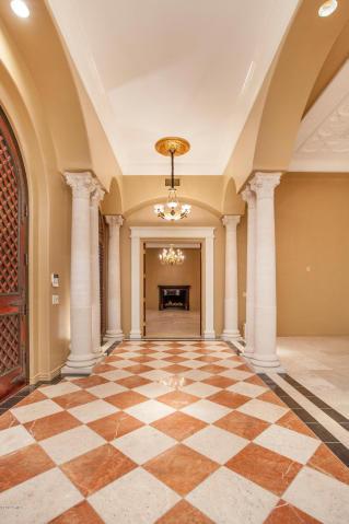Terbush 7 Grand Gallery Entry home built by Carmel Homes Design Group LLC
