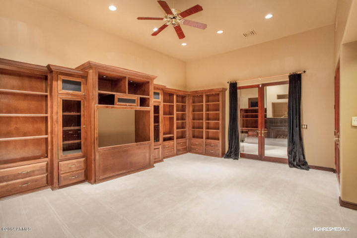 Terbush Den-Library home built by Carmel Homes Design Group LLC