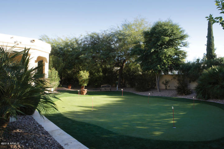 Merrill 21 Putting Green Built by Carmel Homes Design Group LLC