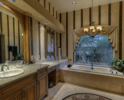 Merrill 13 Master Bath Built by Carmel Homes Design Group LLC