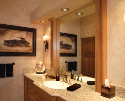 Merrill 14 Master Vanity Built by Carmel Homes Design Group LLC