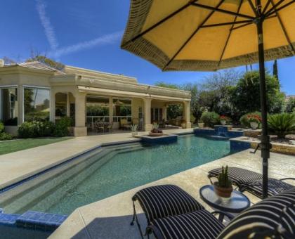 Merrill 20 Pool Side Built by Carmel Homes Design Group LLC