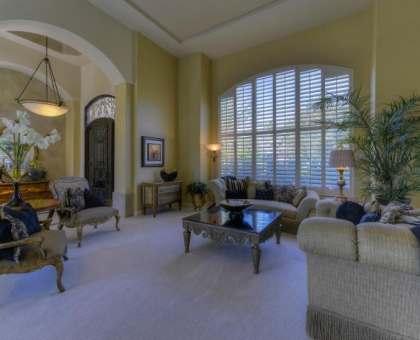 Merrill 4 Formal Living Room Built by Carmel Homes Design Group LLC