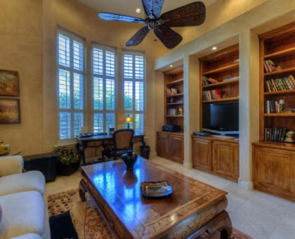 Merrill 8 Study Built by Carmel Homes Design Group LLC