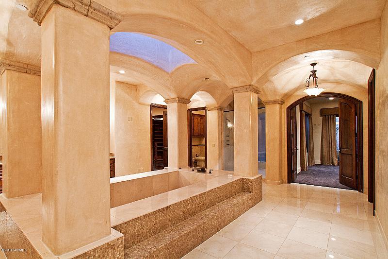 16 lot 171 Master basth Old World Home Built by Carmel Homes Design Group LLC