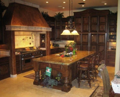 15 lot 171 Kitchen Old World Home Built by Carmel Homes Design Group LLC