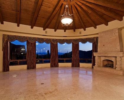9 lot 171 Living Room 2 Old World Home Built by Carmel Homes Design Group LLC